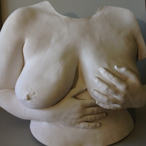 Female torso cast